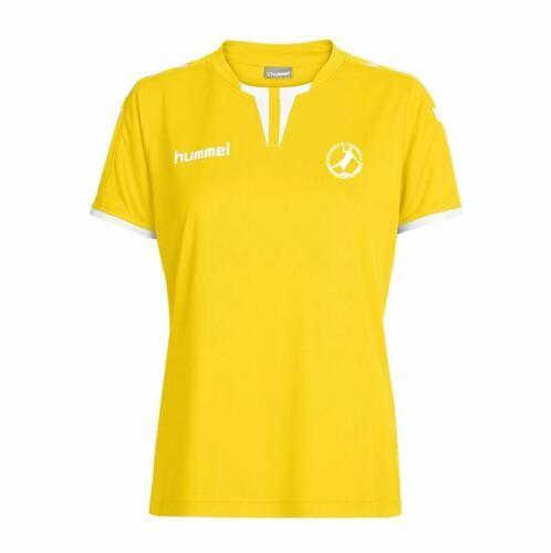 Hummel Core SS Poly Jersey Damen gelb Bregenz Handball