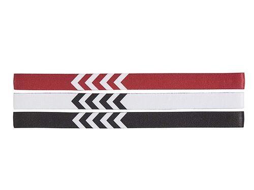 Hummel 3-PACK HEADBAND 17-18 1 WHITE/BLACK/TRUE RED