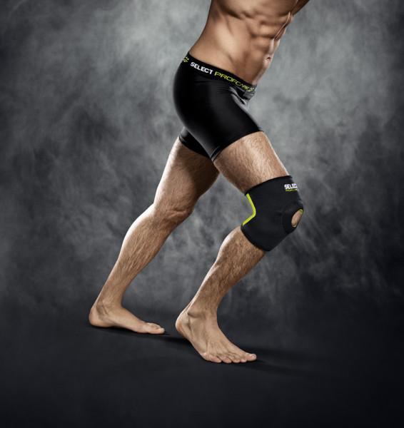 Select Kniebandage mit Kniescheibenstütze M schwarz