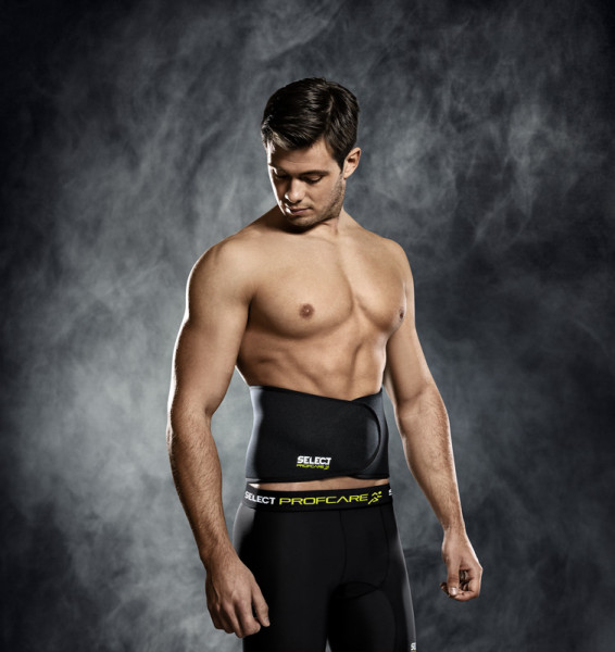 Select Rückenbandage S schwarz