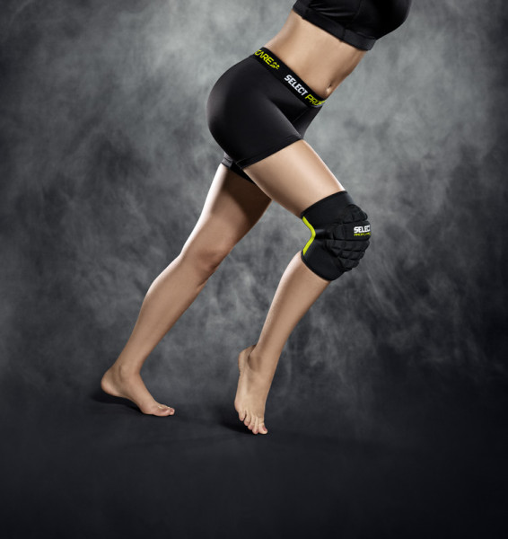 Select Kniebandage Handball Women XS schwarz