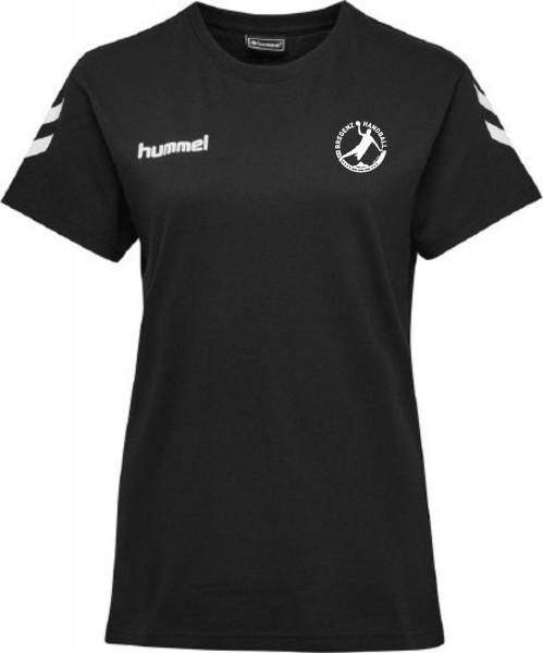 Hummel HMLGO Cotton T-Shirt WOMAN Bregenz Handball schwarz