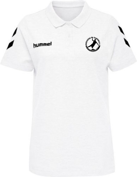 Hummel HMLGO COTTON POLO Women Bregenz Handball weiß