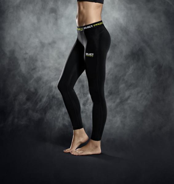 Select Kompressionshose lang Damen XL schwarz