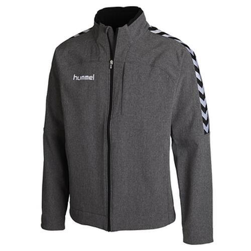 Hummel Stay Authentic Softshell Jacket grau