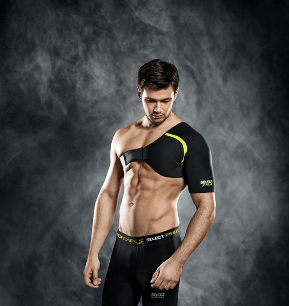 Select Schulterbandage S schwarz