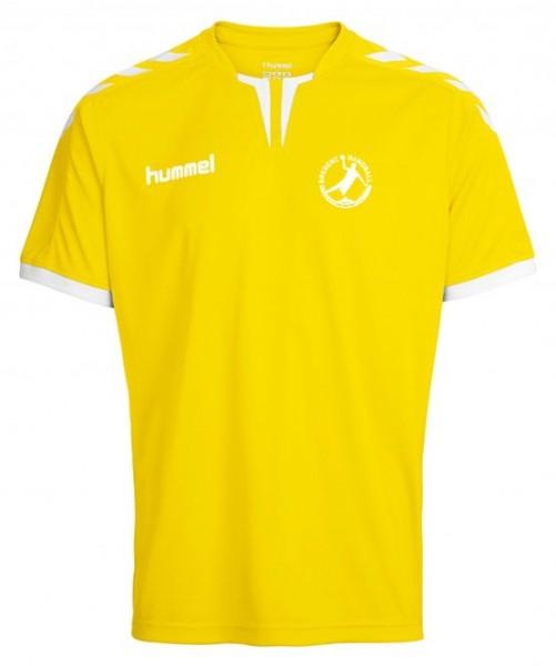 Hummel Core SS Poly Jersey gelb Bregenz Handball