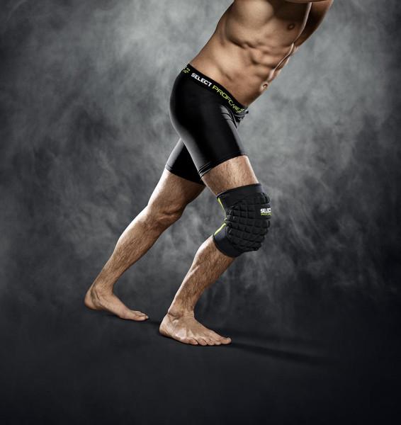 Select Kniebandage mit grossem Polster L schwarz