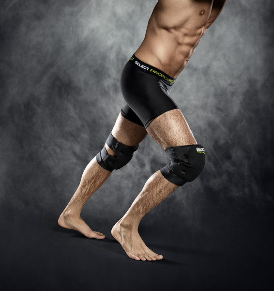 Select Kniebandage Volleyball XL schwarz